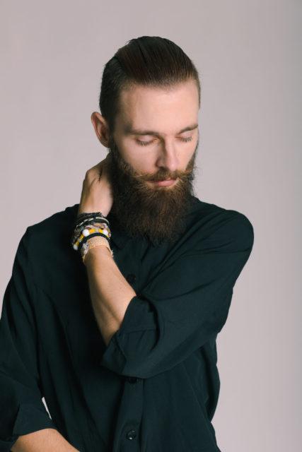 retrato modelo hombre por fotógrafo de moda en alicante